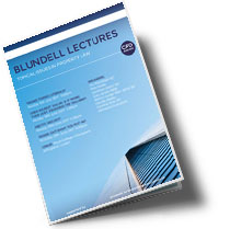 Blundell Lectures Brochure